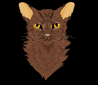 Brambleclaw MS Paint by TheRealBramblefire