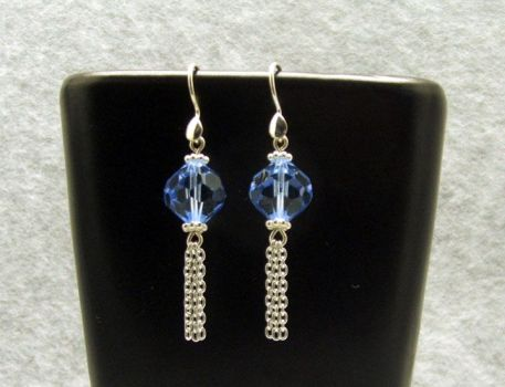 Crystal Blue and chains by Janski-Designs