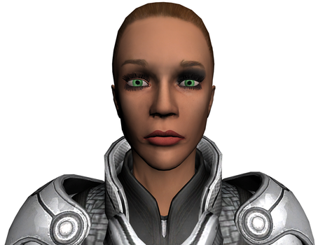 FemShep WIP - Face by J4N3M3