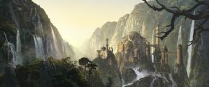 Fantasy Matte Painting by MartaNael