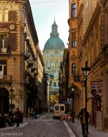 A part of St. Stephen's Basilica in Budapest by 0lcsy