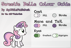 Sweetie Belle Colour Guide by Atmospark