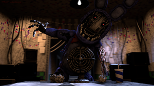 Withered Bonnie Attack by TF541Productions