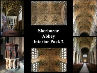 Sherborne Abbey Interior pack2 by Jabberwock-stock