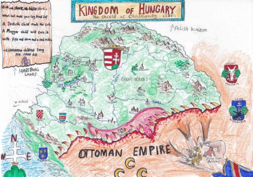 Kingdom of Hungary map by cpmcpm13