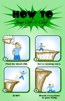 VC2: How To Jump Off A Cliff by Kuiosikle