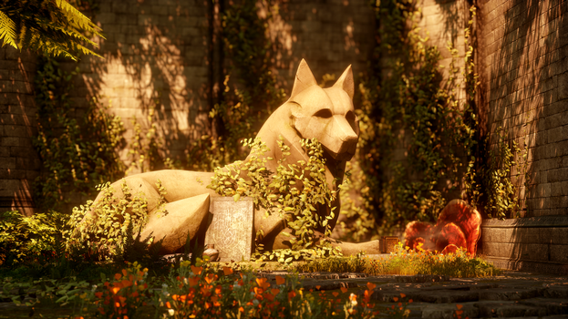 Fen'Harel - Dragon Age: Inquisition by Oberon7up