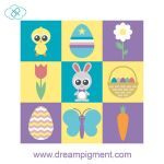 Easter Icons 2018 by DreamPigment