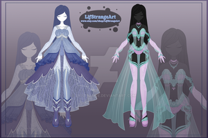 [Close]  Adoptable Outfit Auction 58-59 by LifStrange