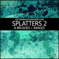 Splatters Brushes 2 by Leichnam