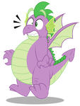 Grown up Spike - HOLY GUACAMOLE!! by AleximusPrime