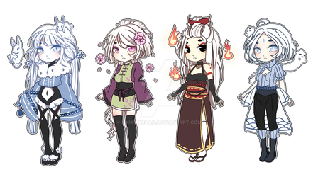 Adoptables #91 -Closed- by KamikaChan