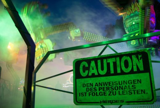 Caution - Insane People On The Ride! by duschkraem