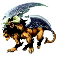 Chimera the Flying Mythical Beast png by Carlos123321