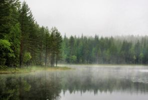 early in the morning by KariLiimatainen