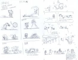 Sonic Snow Zone Ideas - Badniks and Gimmicks by Yeow95