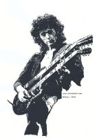 Jimmy Page by Jaizz