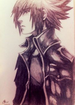 Noctis Sketch by Bill-James