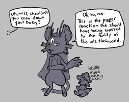 Parenting Lessons with Grey by Lucheek