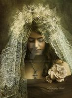 Unhappy bride by CindysArt