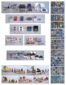 My Nintendo Collection by HaywiredHamish