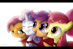 Cutie Mark Crusaders by A-Venge