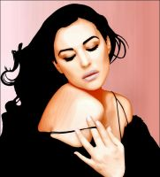 Monica Bellucci by gocrackthesky