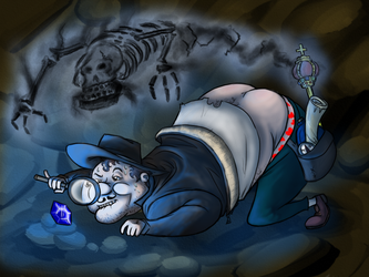 The Portly Archaeologist by Cody-Church