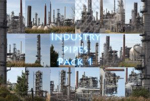 Industry pipes Pack 1 by Wolves-PSD