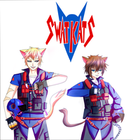 Swat Cats- the anime style by luckynyan4