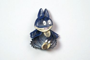 Pokemon Paper Quilling Art 446 Munchlax by wholedwarf