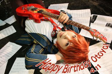 Happy Birthday Otoya! by char-min