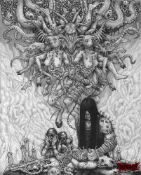 The Putrid Womb of the Goat by DARK-NECRODEVOURER