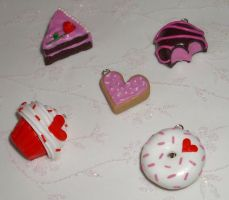 Sweetheart charm collection by PORGEcreations