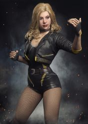 I2: Black Canary  v3 by AnubisDHL