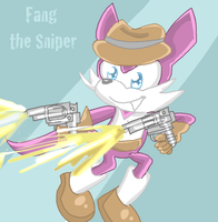 Fang the Sniper by Violent-Rainbow