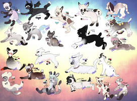huge batch adopts all open ! by pinewoIf
