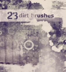 dirt brushes by Apofiss