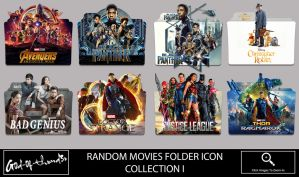 Random Movies Folder Icon 1 by G0D-0F-THUND3R