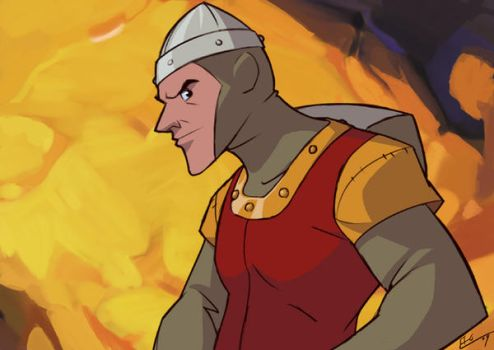Dirk the Daring by E-Mann