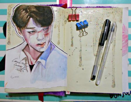 Jimin by Child-of-the-Sun001