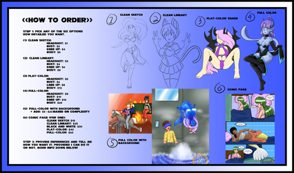 2018 Commission Pricing (Also Open) by Dumdodoor