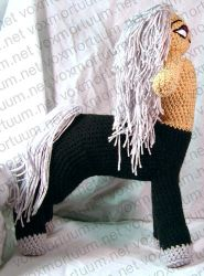 Male Centaur Amigurumi Doll by voxmortuum