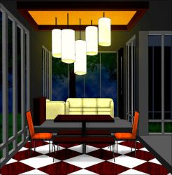 Dining Room by 13-year-old