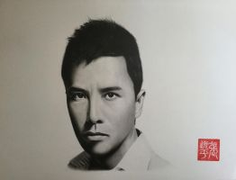 Donnie Yen Portrait by yipzhang5201314