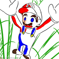 Mario by mushisan