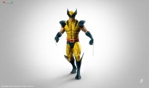 Classic Wolverine ZBrush 4 by patokali