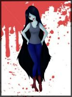 Marceline the Vampire Queen by MelodicArtist