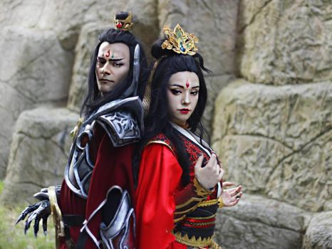Wizard Duo from Diablo III by Quixecosplay