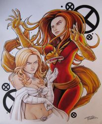 Jean and Emma by KidNotorious